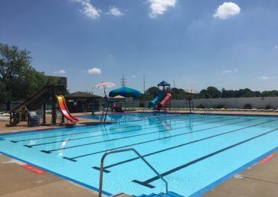 Main Pool and Tube Slides